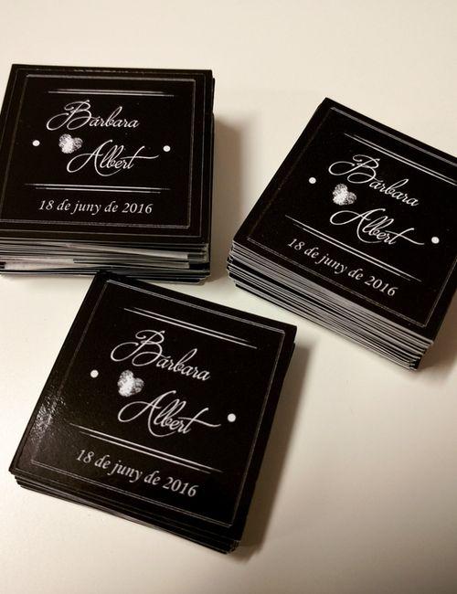 Pegatinas personalizadas para bodas y ocasiones especiales