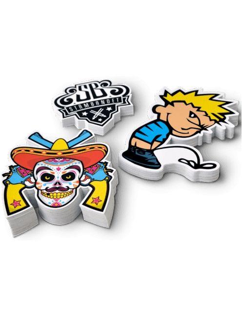 Stickers, adhesivos y pegatinas personalizadas