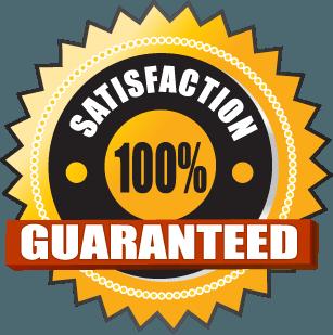 Satisfacción 100 % garantizada