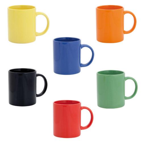 tazas de colores personalizadas