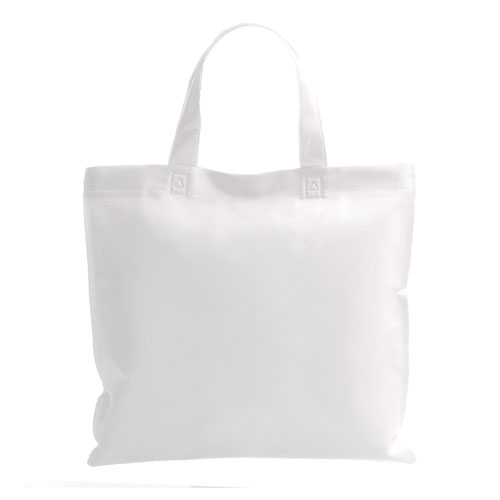 bolsa shopper blanca
