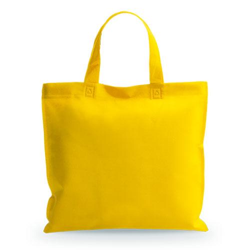 bolsa shopper amarilla