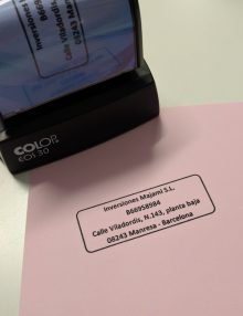 sellos personalizables