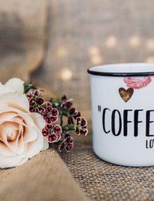 taza cafe vintage