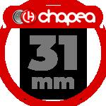 Chapas Personalizadas 31mm