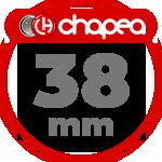 Chapas Personalizadas 38mm