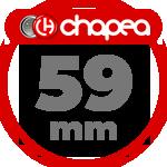 Chapas Personalizadas 59mm