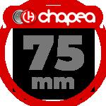 Chapas Personalizadas 75mm